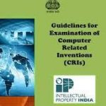Revised Guidelines for Examination of Computer Related Inventions (CRIs)