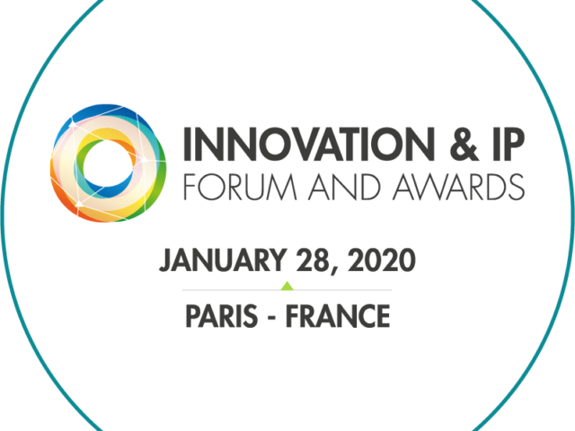 INNOVATION & IP FORUM AND AWARDS | January 28 2020 | Paris France
